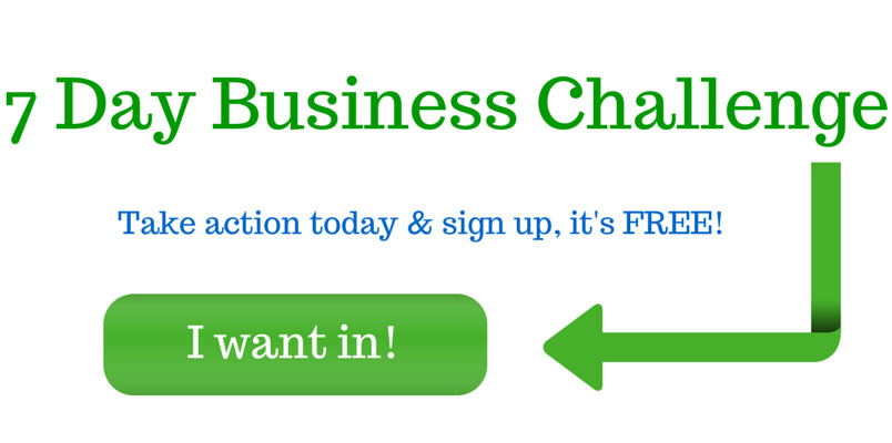 I want in 7 Day Business Challenge