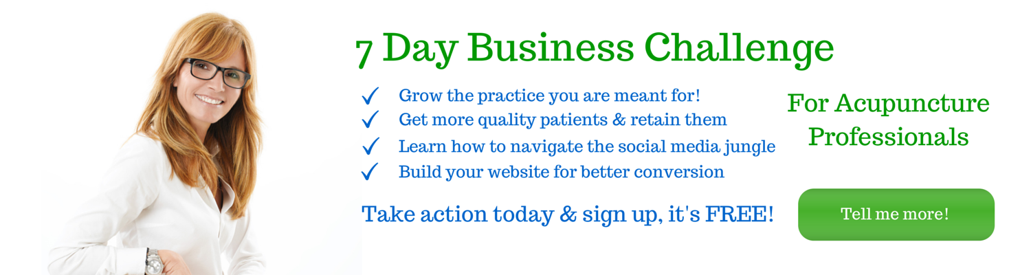 AcuPro Academy 7 Day Business Challenge
