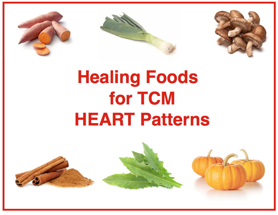 Heart patterns tcm images for Cuisine for healing