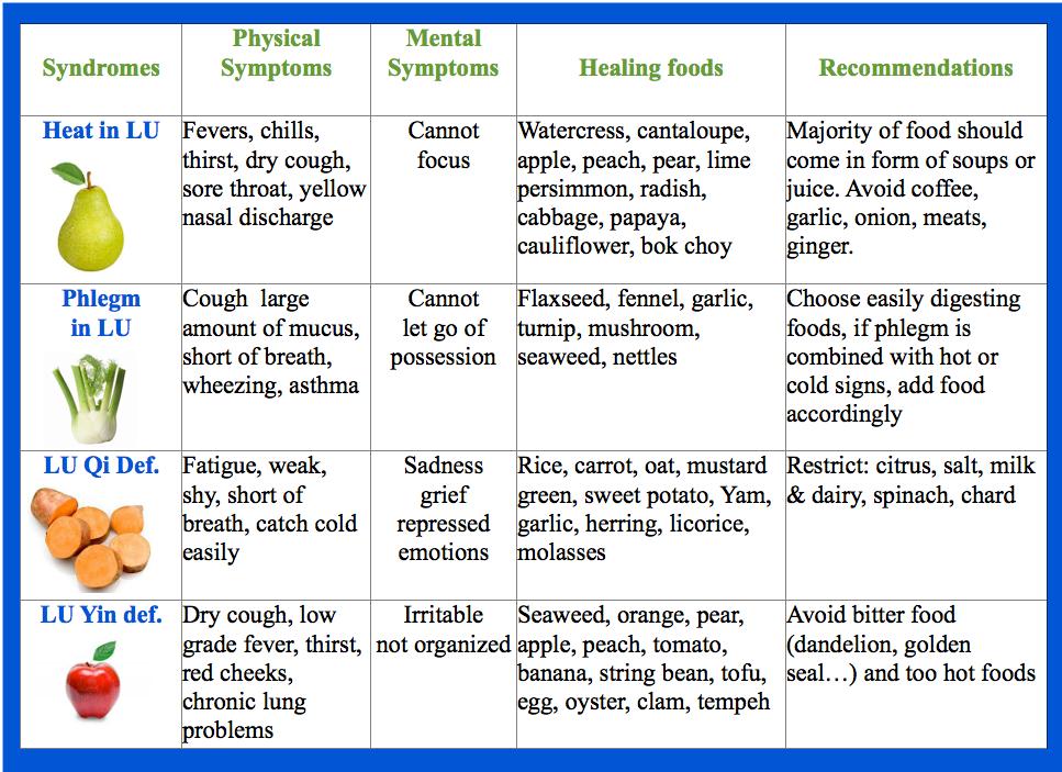 foods for spleen qi deficiency | Foodstutorial org